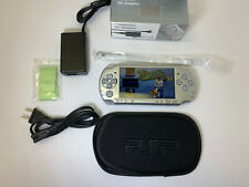 Sony PSP 2000 Slim Ice Silver / New Accessories / 14 Games on 8GB Memory Card A+