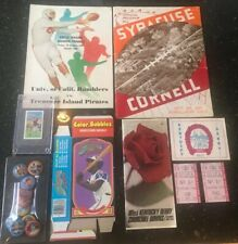 Sports Memorabilia Lot Tobacco Golf Card, Pins, Programs,Kentucky Derby,Cowboys