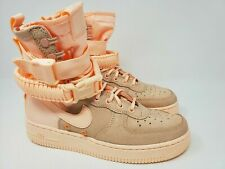 Nike SF Special Force AF1 Women's Boots Crimson Tint Pink (857872-800) SZ 8.5