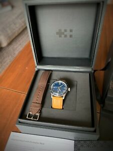 Christopher Ward C65 Trident - Includes additional brown Christopher Ward strap