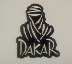 DAKAR (a) Rally Motor Racing / Motorsport Patch Sew / Iron On Badge