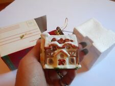 Vintage Twinkle Town Bell Ornament