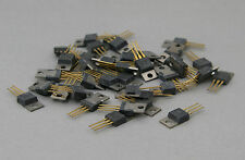NOS 34 pc. 1854-0683 Silicon NPN Transistor ~ Motorola Gold Leads ~ Lot of 34