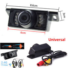 LCD Car Wireless Back Up Camera Kit Rear View Parking Night Vision 2.4G HD Color