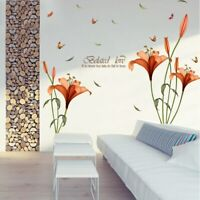 1x Removable Flower Wall Stickers Mural DIY Art Decal For Home Living Room SALE-