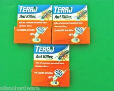 3 Liquid Terro Ant Killer II Indoor Bait Borax Common Household Small Sweet T100