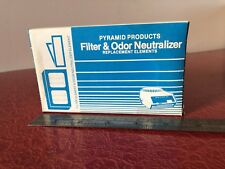 Pyramid Products Filter & Odor Neutralizer Replacement Elements Fn-30Lc Citrus