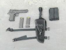 1/6 scale toy GI JOE - Crimson Cobra Commander - Black Desert Eagle w/Holster