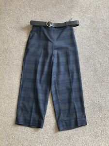 Bnwot Next Checked Trousers Size 12 Petite