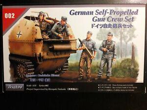Tristar Series #002 1/35 Scale, German Self-Propelled Gun Crew Set (NEW)