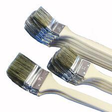 12 x Heizkörperpinsel Ecken-Pinsel | 50 - 60 - 70 mm | graue Mischborste
