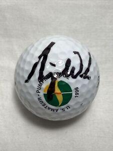Rare Tiger Woods Signed Golf Ball 1996 US Amateur Championship JSA Autograph