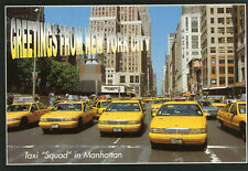 ETATS UNIS Freetings from NEW YORK CITY Taxi squad in Manhattan