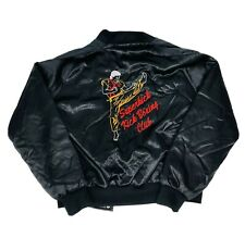 Super kick Kick Boxing Club Bomber Vtg Jacket Hilton Apparel USA Made