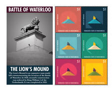 Micronesia - Battle of Waterloo Stamp - Sheet of 6 MNH