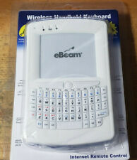 eBeam Wireless Handheld Keyboard & Mouse Touchpad USB Remote Control (OSSHED)