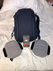 peak design everyday backpack zip Midnight Blue 15L