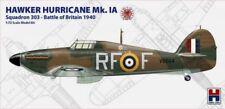 HURRICANE MK.I A BATTLE OF BRITAINE (RAF/POLISH AF MKGS) 1/72 HOBBY2000/HASEGAWA