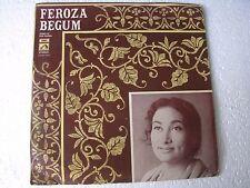 Feroza Begum Songs Kazi Nazrul EASD 1414 Bengali LP Record India NM-1454