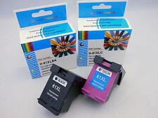 2PK HP 61XL BLK & CLR Ink Cartridge for HP Deskjet 3516 3511 3054 3050 3000 2512