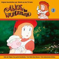 ALICE IM WUNDERLAND - 03: DER WALD OHNE NAMEN/+  CD NEW
