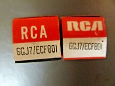 6GJ7 / ECF801 RCA VACUUM TUBE, NEW IN BOX / NEW OLD STOCK, PRICE IS FOR 1 TUBE.