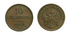 pci3185)  Lomabardo Veneto Francesco Giuseppe I (1848-1866) 10 cent 1852 V - NC