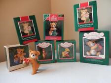 Hallmark Cinnamon Bear Collector's Series (Years 83,84,86,87,88,89 x 2, 90)