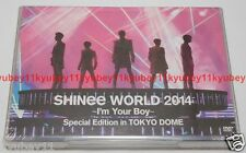 SHINee WORLD 2014 I'm Your Boy Special Edition in TOKYO DOME 2 DVD Photobooklet