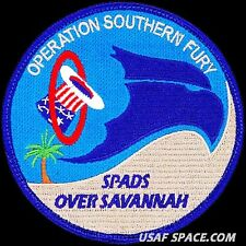 USAF 94TH FIGHTER SQUADRON - SENTRY SAVANNAH 2013 - ORIGINAL AIR FORCE VEL PATCH