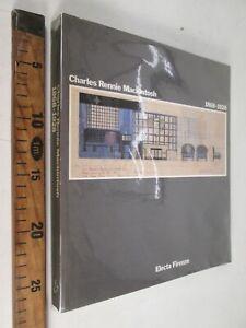 1988 CHARLES RENNIE MACKINTOSH 1868-1928 ED. ELECTA ARCHITETTURA DESIGN ARTE