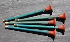 5 Fléchettes Eureka neuves Bois Carabine Fusil Pistolet tir aux pigeons ventouse