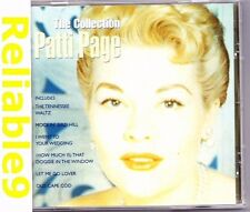Patti Page - The collection CD Brand new not sealed - 2001 Spectrum PolyGram EC