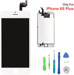 Replacement Touch Screen LCD Touch Digitizer Assembly For Phone 6S Plus White