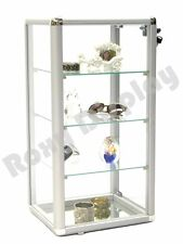 CA CLOSEOUT Standard aluminum framing Glass Countertop Display Case #SC-KDCAB