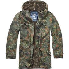 Abrigos y chaquetas de hombre parka azul 100% algodón