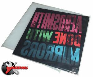 """100 FUNDAS EXTERIORES SLIM - BLANDAS - DE PLASTICO PARA DISCOS DE VINILO LP 12"""""""