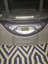 """Magnavox MCS200SL AM/FM Radio """"CD"""" Cassette Tape Stereo Boombox With Cord"""