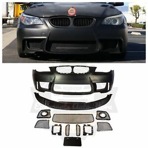 2004-09 BMW E60 1M STYLE FRONT BUMPER FOR FOG LIGHTS & FOG LIGHT DELETE VERSIONS