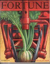 1948 Fortune October - Mechanized Farming; Terrace Plaza in Cincinnati; Chrysler