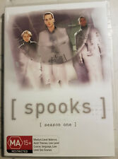 Spooks Season 1 (DVD, 2003, 2-Disc Set) New Region 4