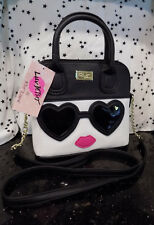 Betsey Johnson Girl With Sunglasses Purse LBDEX Satchel Crossbody Bag NEW*