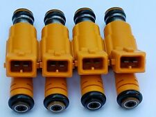 2.5L Wrangler Upgrade Genuine BOSCH Fuel Injector Set 4 Nozzle 19lb