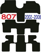 Peugeot 807 Tailored car mats ** Deluxe Quality ** 2010 2009 2008 2007 2006 2005
