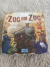 Zug um Zug / Days of Wonder / Spiel des Jahres 2004 / Familienspiel