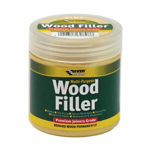 Everbuild Multi Purpose JOINERS GRADE Wood Colour Filler 250ml ALL COLOURS