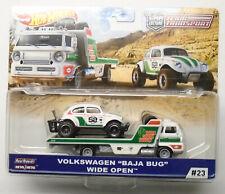 New ListingHot Wheels Team Transport Volkswagen Vw Baja Bug & Wide Open Truck Real Riders