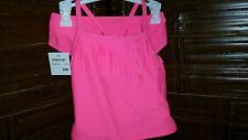 NWT CARTER'S GIRLS SWIMSUIT SIZE 24 MONTHS HOT PINK TANKINI