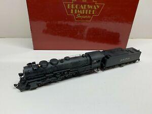 BLI Broadway Limited ATSF 2-10-2 Steam loco DCC/Sound. Pro/weathered C2 Runs!