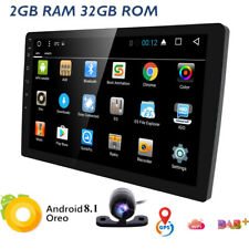 "10.1"" Double 2DIN Car Android 7.1 Stereo Radio No DVD Player WIFI GPS Navi 4Core"